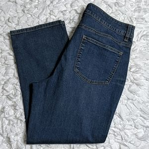 *Talbots Heritage Ankle Cropped Jeans Size 12